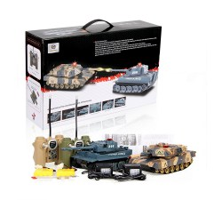 Czolgi, Tank Vehicle, RC, UNI-FUN 508-10, 5901779361475